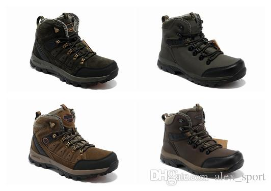 Famouse Brand Camel High Hiking Boots Breathable Men Leather Casual Shoes  Waterproof with Velvet Cotton Women Shoes Eur 39-44 Army Green Camel Hiking  Casual ...