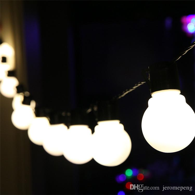 Novelty 20 LED Globe string lights Connectable Festoon Party Ball string lamps led Christmas Lights fairy wedding garden pendant garland