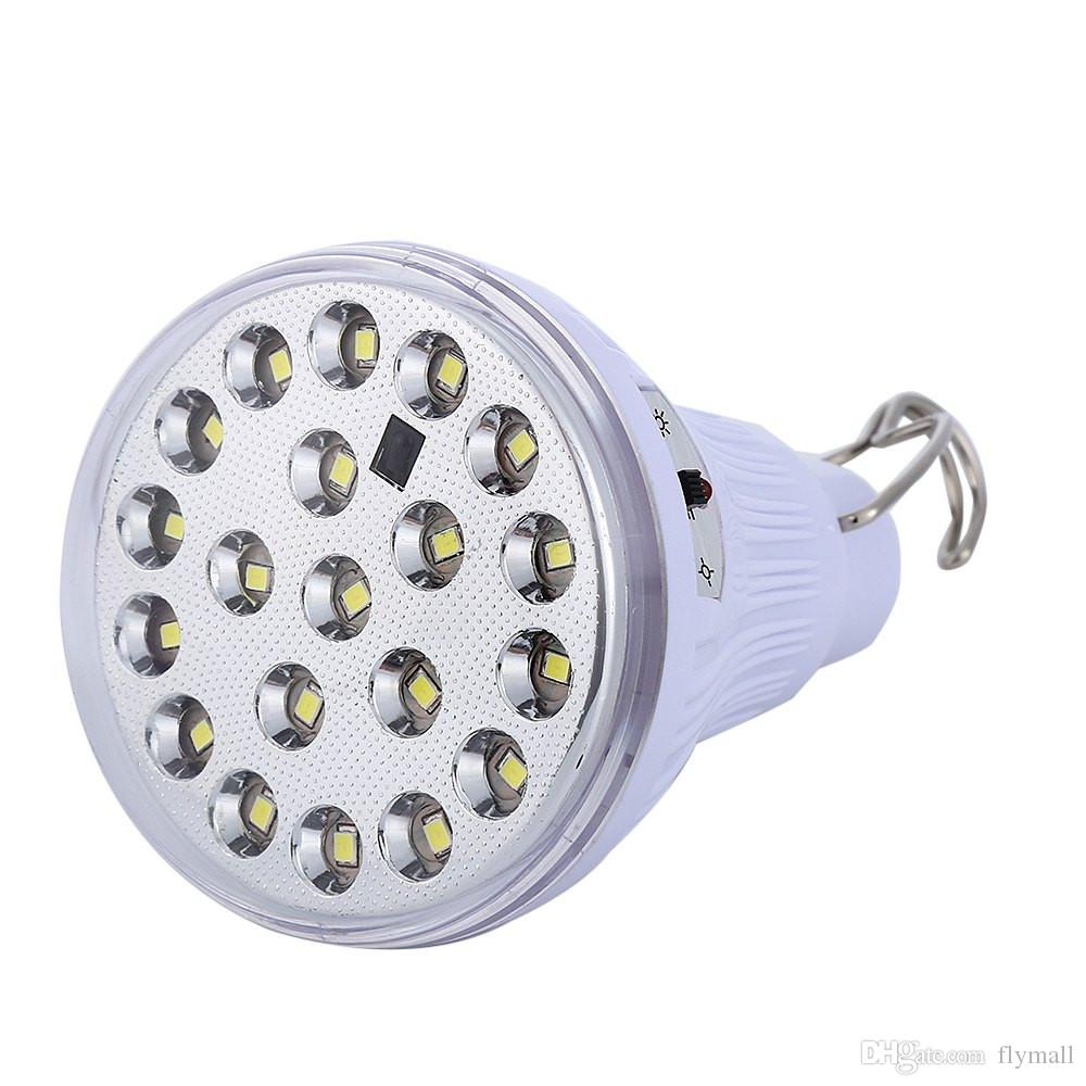 새로운 Dimmable 6V 20 Led 원격 제어 솔 라 라이트 실내 Led 전구 빛 야외 정원 장식 빛 태양 램프 1W 태양 전지 패널