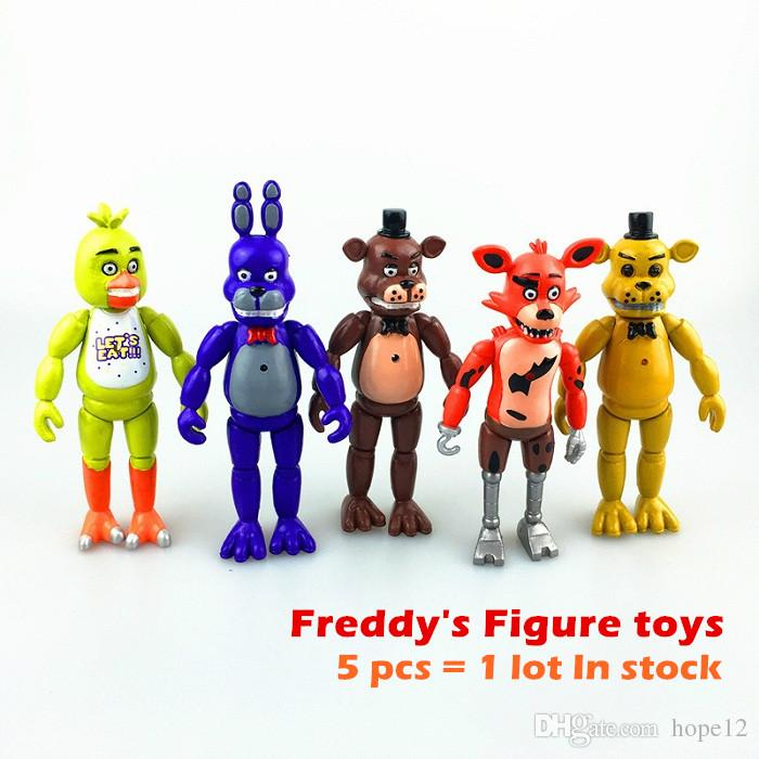 2019 top sale 14cm 5 five nights at freddy s fnaf freddys figure