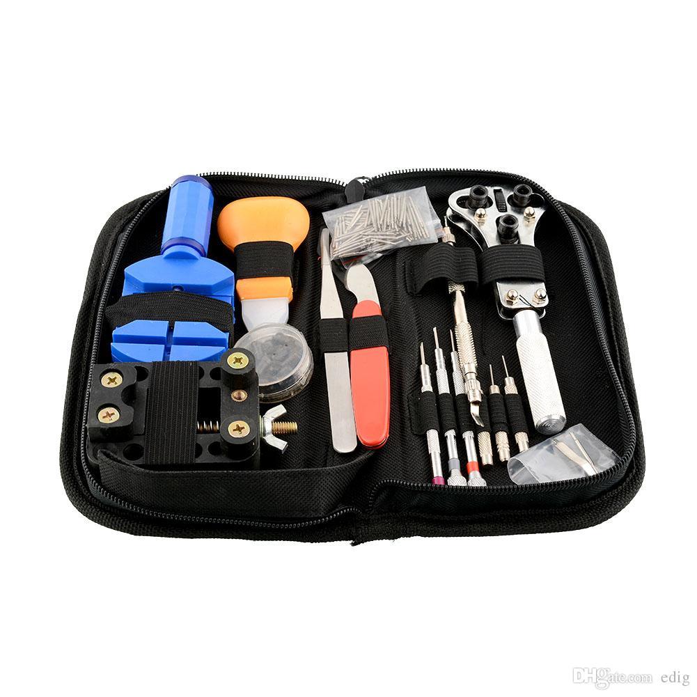 / / set orologiaio riparazione strumenti di riparazione kit caso rimozione apri bar set convenienza marca orologio strumento