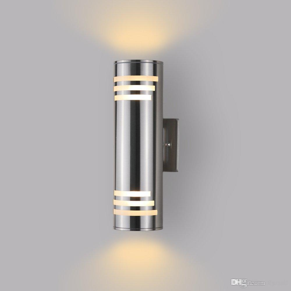Waterproof Cylinder Porch Light Outdoor Lighting C Ul Us Listed Up Down Wall Sconce Lamps Suitable For Villa Garden Corridor Patio Balcony By
