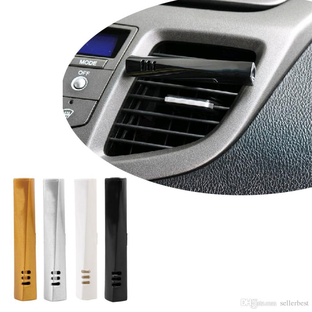 монолит палочка авто Автомобиль вентиляционные духи бальзам кондиционер выход декоративные духи автомобиля аромат освежитель воздуха с 4 различных пополнения