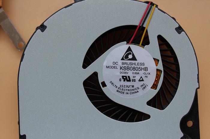 Nueva original para Toshiba S55 S55D S55T-Un ordenador portátil con ventilador de refrigeración H000047190 disipador de calor