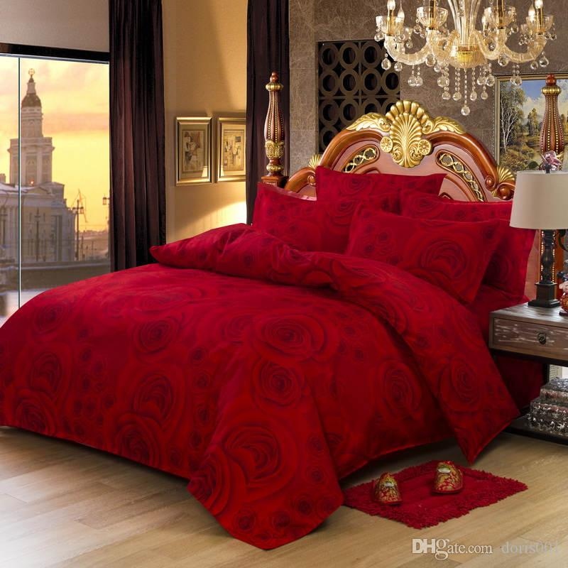 Luxury Bedding Set King Queen Size Bedclothes Sets Bedding