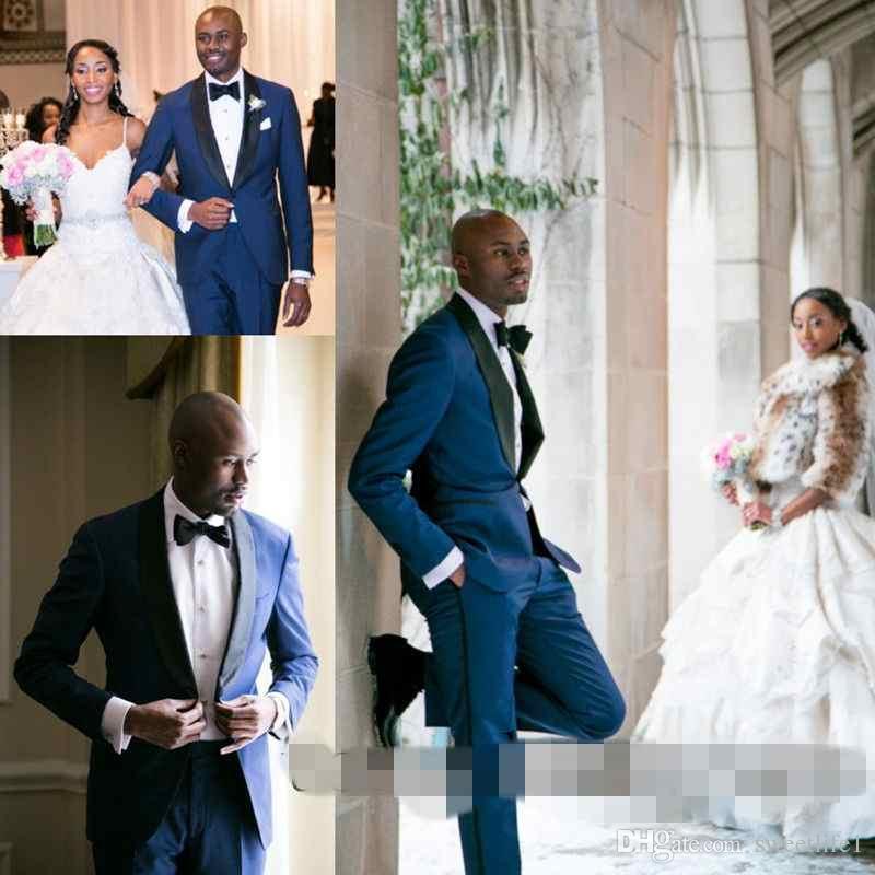 Blue Mens Wedding Suits - Suit La