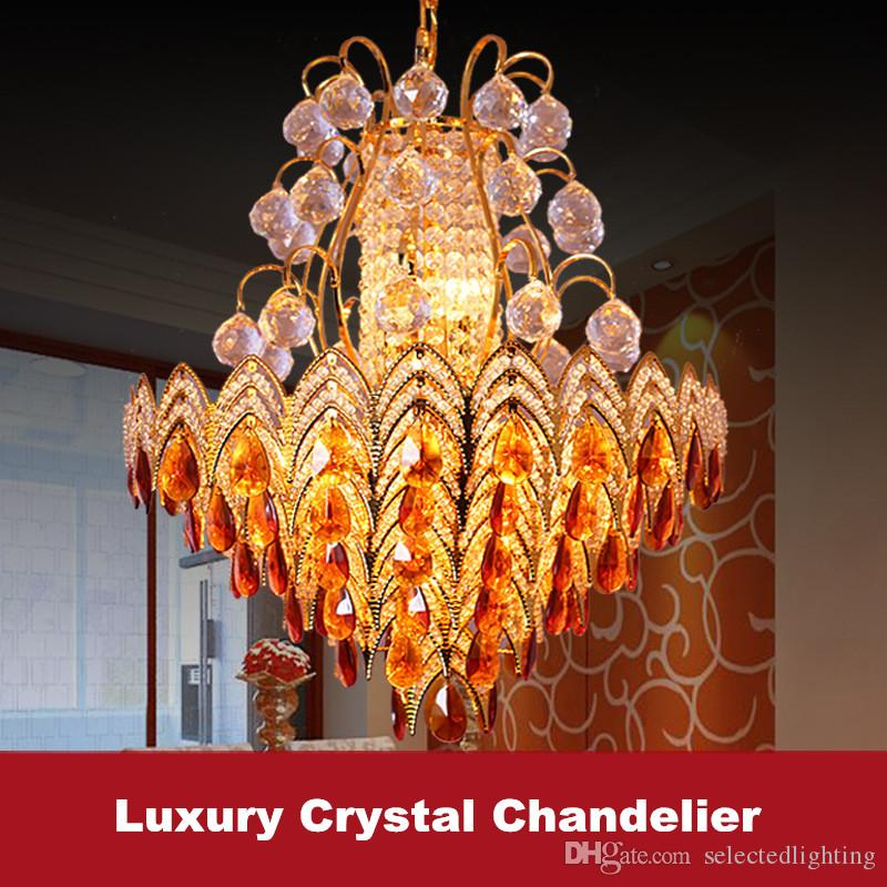 Modern Pendant Light Fixture E14 Gold Chandelier Lighting Bohemian