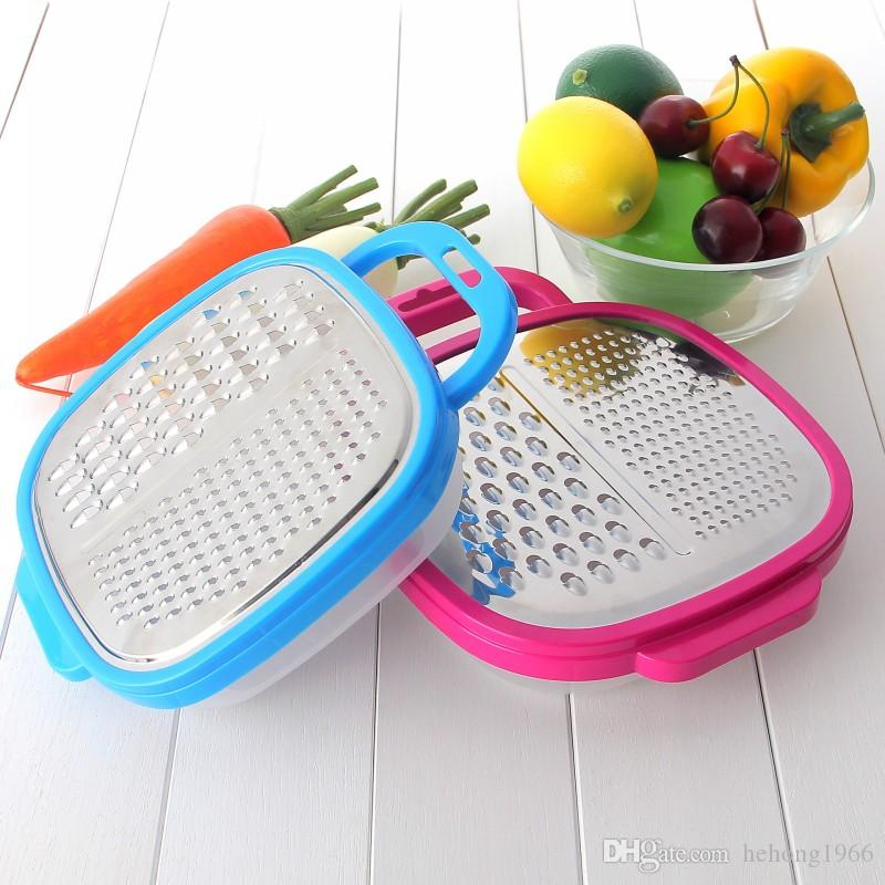Sturdy Planer Abrader Board Anti Wear Household Kitchen Tool Manual Stainless Steel Vegetable Grater High Quality 4 2tr B R