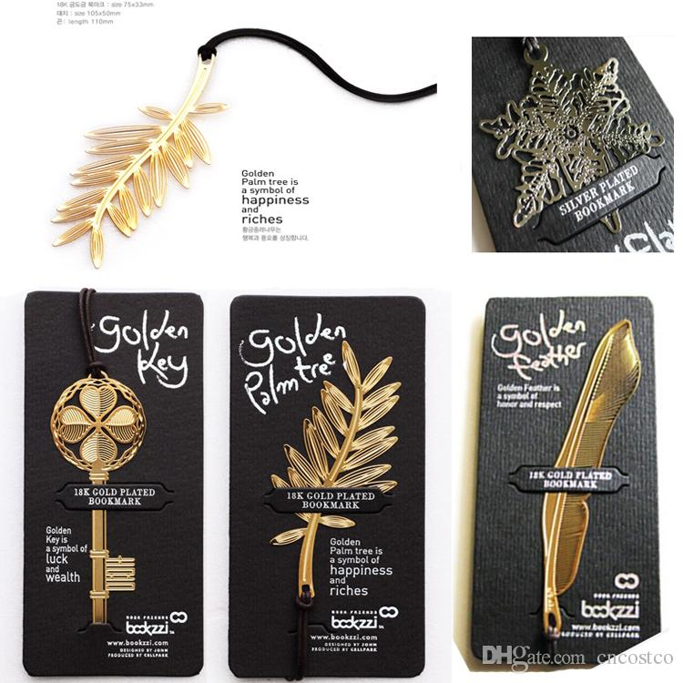 Free dhl great 4 styles metal creative bookmarks key palm tree flake free dhl great 4 styles metal creative bookmarks key palm tree flake feather page tag wedding supplies set e868e do it yourself bookmarks free bookmark solutioingenieria Images
