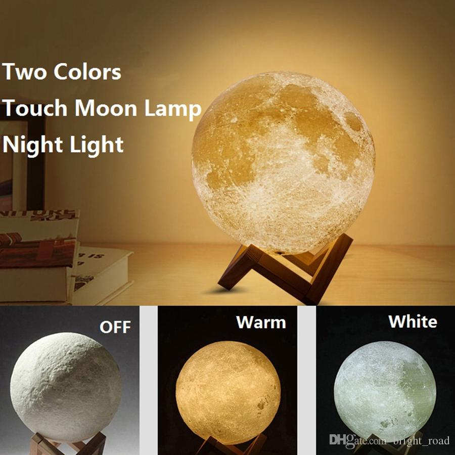 2019 3d Moon Lamp Led Night Magical Moon Light Moonlight