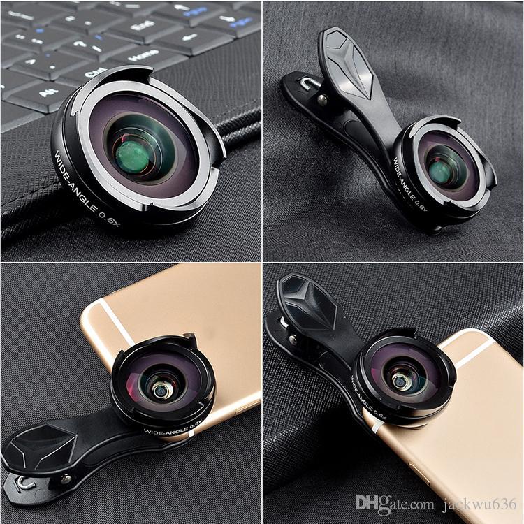 광각 매크로 콤보 전화 렌즈 세트 유니버셜 SLR 외장형 전화 렌즈