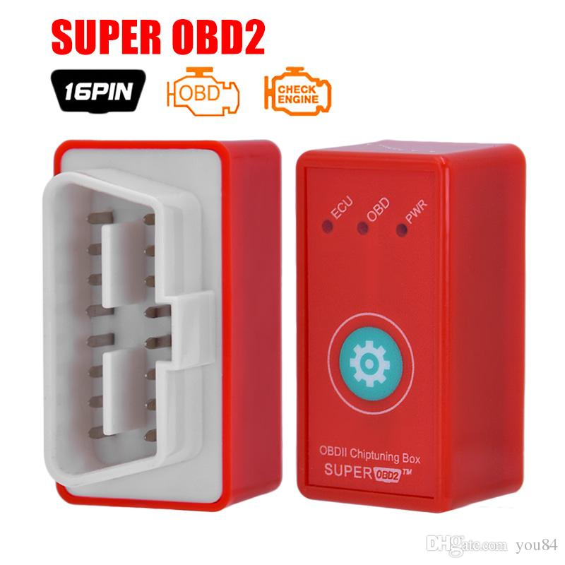 2017 New Super OBD2 Car Chip Tuning Box Plug and Drive SuperOBD2 More Power / More Torque As Nitro OBD2 Chip Tuning NitroOBD2