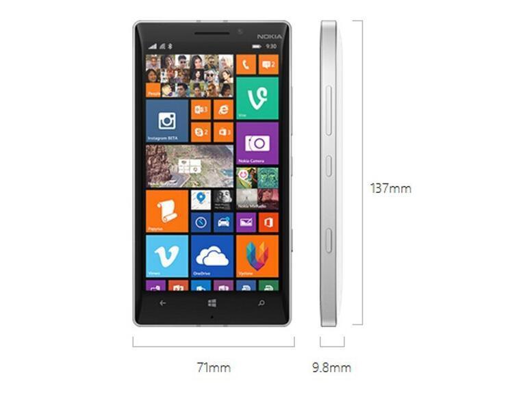 Cellulare originale Nokia Lumia 930 sbloccato Quad Core 2gb Ram 32gb Rom 20mp 5 pollici 4G LTE telefono cellulare originale