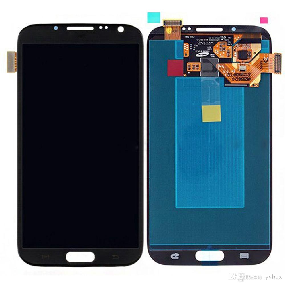 YVBOX B Grade SBI / Dead Pixel Screen For Samsung Galaxy Note 2 N7100 All Carriers LCD Display Digitizer Touch Screen Assembly