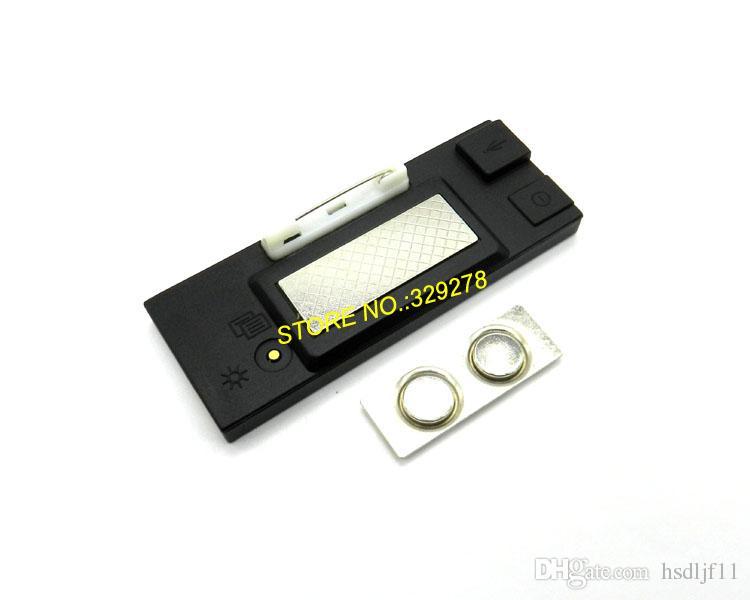 USB Şarj Edilebilir / PC'ye Göre Düzenle / Mesaj Reklam Yeşil LED Adı Kaydırma İşaret Metin Panelleri Rozet LED kartvizit