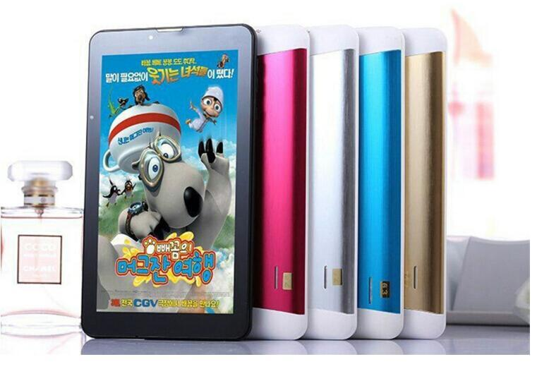7 inch Dual Core 3G Tablet PC Support 2G 3G Sim Card Slot Phone Call GPS WiFi FM Bluetooth