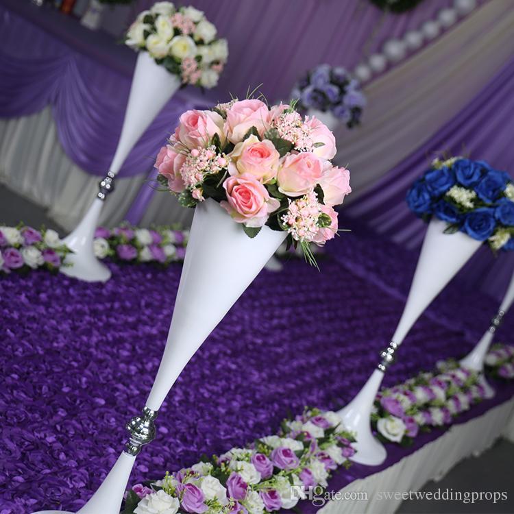 не включая цветок лучшие продажи 70см свадебные золотые канделябры в продаже