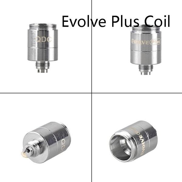 Authentische Yocan Evolve Plus-XL Evolve D Pandon Regen QTC Coil QDC Ceramic Quad-Core-Kopf Vaporizer Kit Spule 100% Vorlage