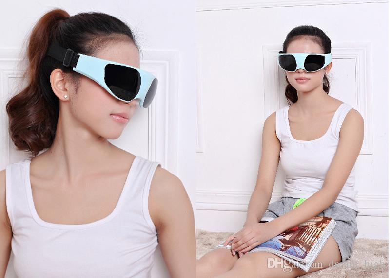 Elétrica Eye Massager Cuidados de Saúde Aliviar A Fadiga Stress Tensão Ferramenta de Alívio Da Tensão Dispositivo de Massagem Eye Eye Instrumento de Beleza
