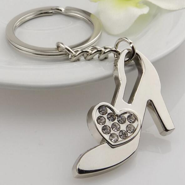 Fashion Accessories Set Auger Key Chains Alphabet Key Ring Bag Key Chains