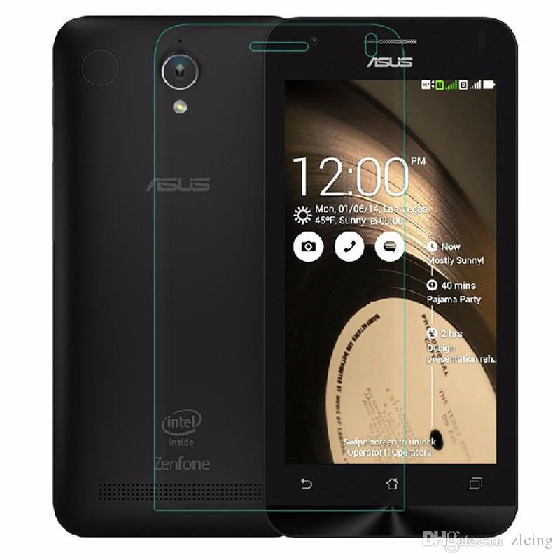 9H 0.25mm Vidrio Templado Premium para Asus Zenfone 2 5 2 55 C 4 5 6 Selfie 2 Laser55 2 Laser5 Go ZC500TG Protector de pantalla máximo 1000 unids / lote