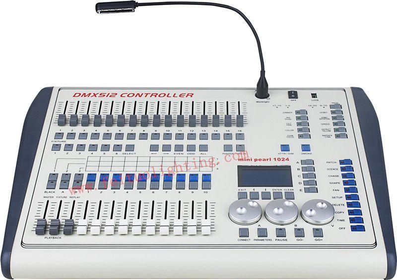 1024 Mini Pearl Controller Bühnenbeleuchtung LED Par Beweglichen Kopf Strahler DJ Controller DJ Equipment