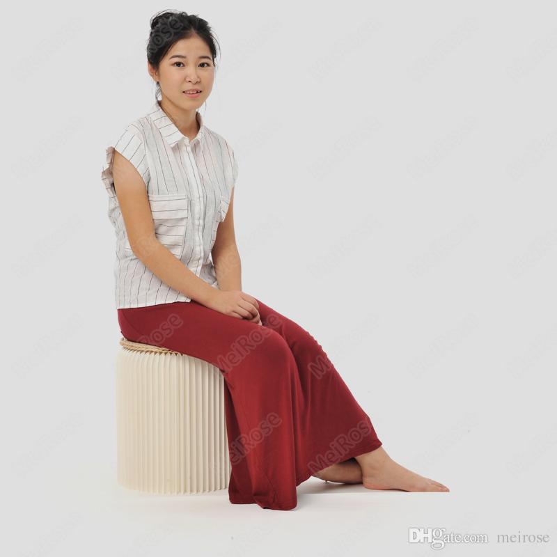 H35xDia34cm 소설 혁신 Funiture 팝 - 종이 의자 실내 유니버설 스터디 룸 방수 아코디언 스타일 크래프트 높이 13.5