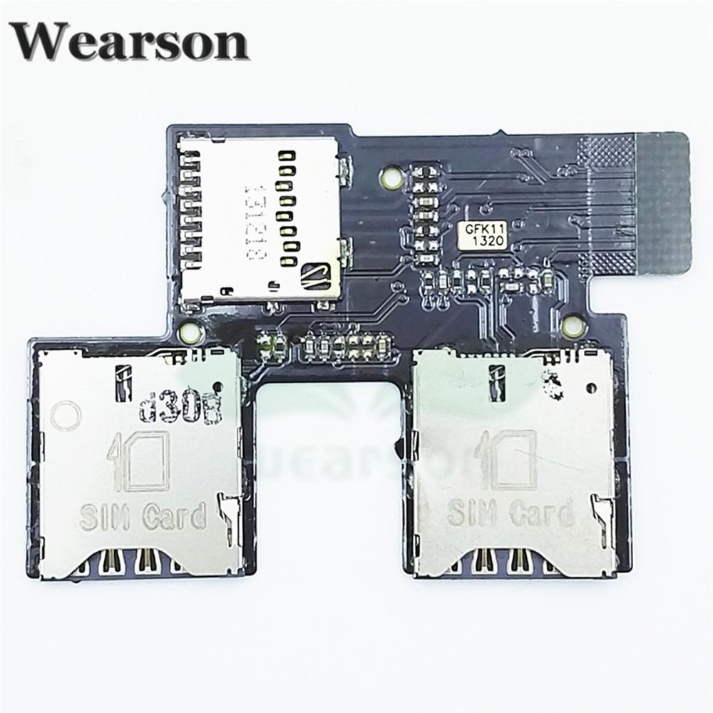 For HTC Desire SV T326E Sim SD FPC Tested High Quality T326E Sim Card Slot  Flex Cable With Tracking Number Cell Phone Lcd Cell Phone Lcd Repair From  ...