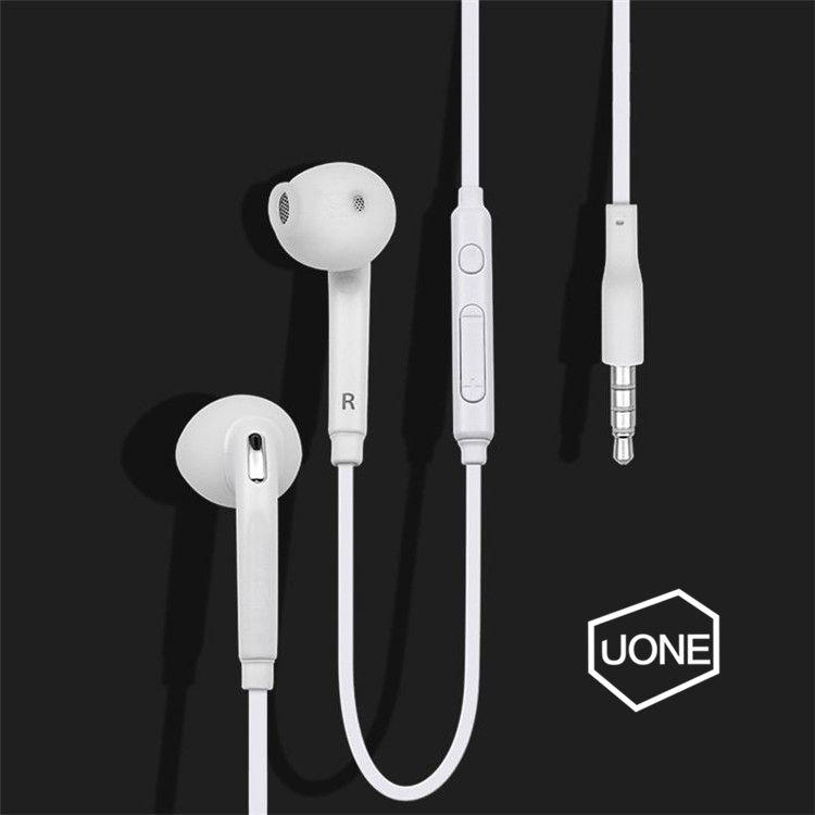 S6 S7 Ecouteurs Ecouteurs J5 Ecouteurs Ecouteurs iPhone 6 6s Ecouteurs pour Jack In Ear filaires Avec Commande de Volume 3,5mm Blanc avec RetailBox