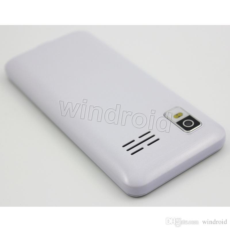 2.8 inch T2 Phone mobile no system Dual SIM back camera + flashlight 2G GSM Unlocked bluetooth MP3 FM Whatsapp Free DHL Colors cheap