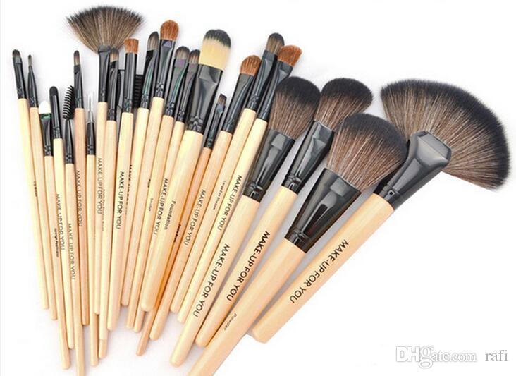 Chrismas gift Makeup Brushes Set Cosmetic Kits Makeup Tools Makeup Brush with leather bag brushes make up for you