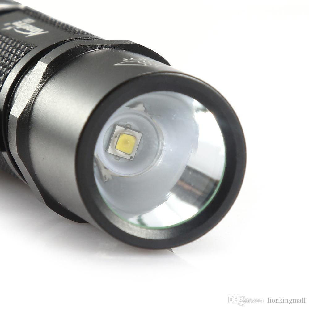 AloneFire X380 Tactical LED Flashlight 14500 Cree XPG2 Powerful Military Torch Light Waterproof Bike Camping Cycling 5 modes