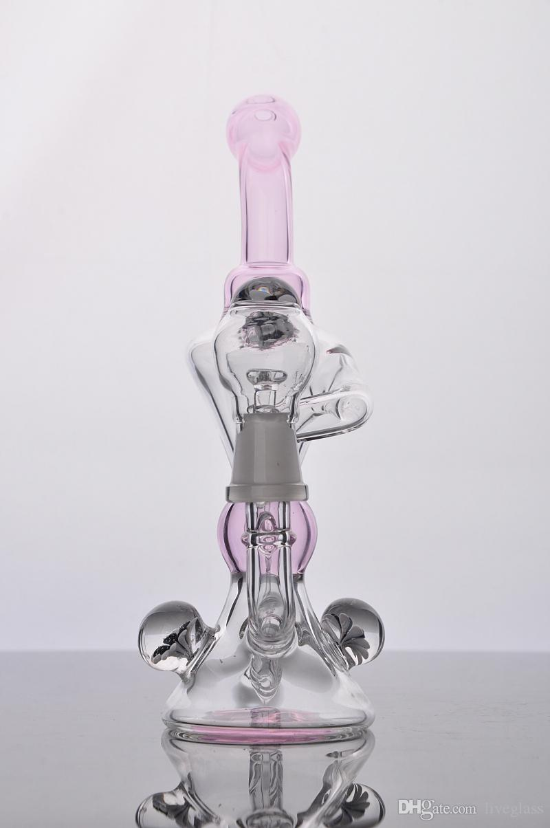 Комплексное изображение испаритель аксессуары для курения деликатес водопровод встроенный барботер ресайклер для курения стекла бонги и Perc курительная трубка