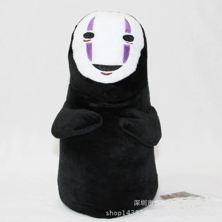 New 18 cm no face male creative My Neighbor Totoro plush toy stuffed doll for birthday halloween gift