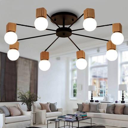 2018 fumat ceiling lamps nordic art creative personality led living