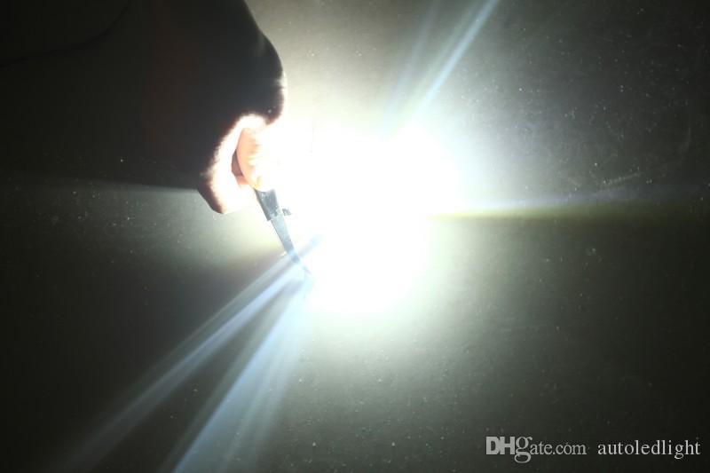 Lighting t15 50W T10 Car LED Bulb wedge Reverse Signal plate instrument indicator Light Lamp White W5W 921 147