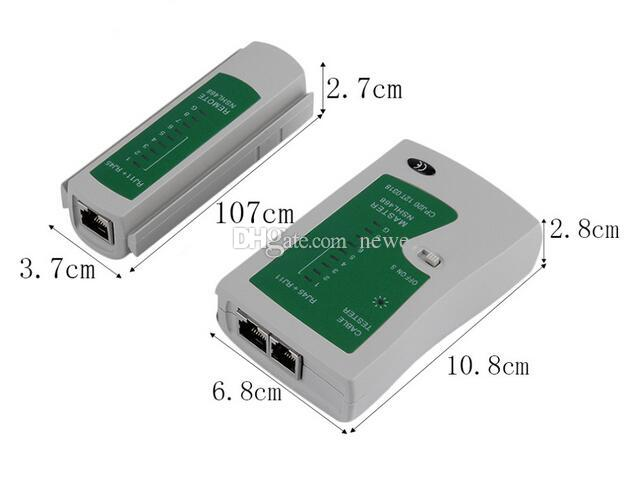 Yeni Gelmesi RJ45 RJ11 RJ12 CAT5 UTP Ağ LAN USB Kablo Test Cihazı Uzaktan Test Araçları