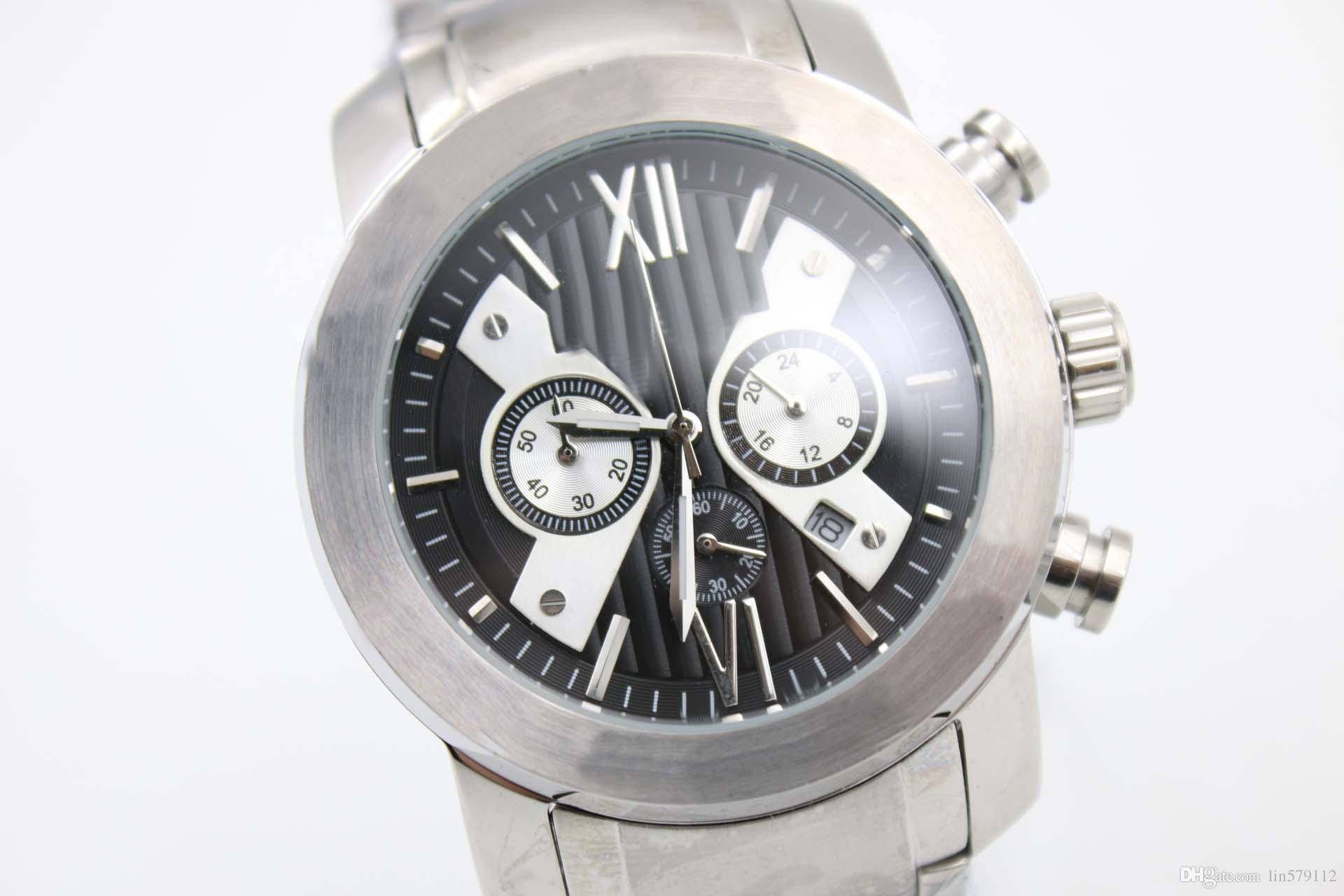 2f6615876052 1887 Top Men Luxury Fashion Custom DIAGONO Stainless Steel AAA ...