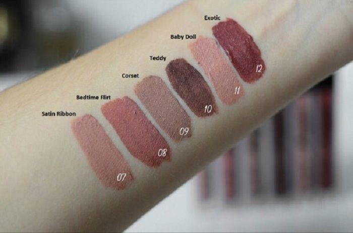 Nueva llegada NYX lip lingerie lip lips lip gloss lipstick vintage de larga duración 4ml maquillaje profesional
