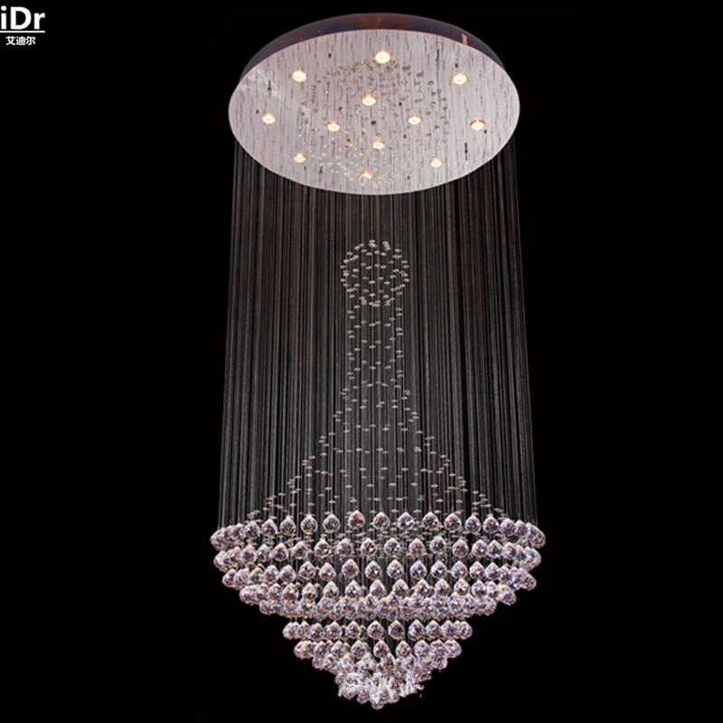 2018 priced modern and simple crystal chandeliers ceiling lamp 2018 priced modern and simple crystal chandeliers ceiling lamp modern crystal stairs wholesale outlet ceiling lights hotel lighting from adrjsyp aloadofball Gallery