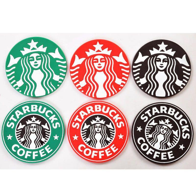 2018 Free Dhl Table Decoration Starbucks Logo Mermaid Silicone