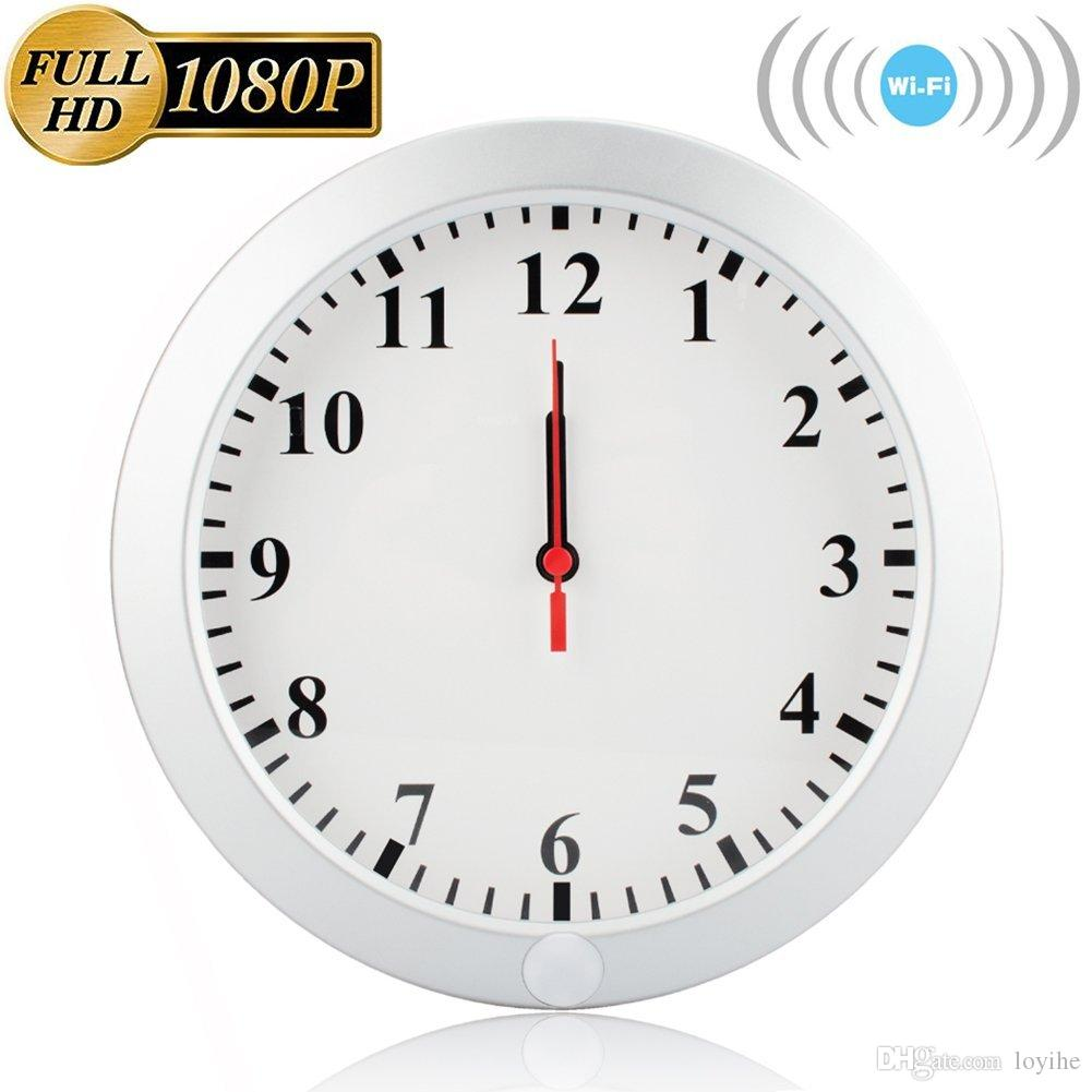 Wifi wall clock nanny cam 1080p wifi wall clock hidden spy camera wifi wall clock nanny cam 1080p wifi wall clock hidden spy camera wireless ip pinhole nanny camera video recorder with motion detection cctv security amipublicfo Images