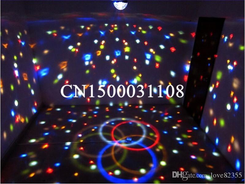 Hoge Kwaliteit 9 Kleur LED Stage Licht Crystal Magic Ball Effect Light DMX 512 Control Pannel Disco DJ Party Stage Lighting