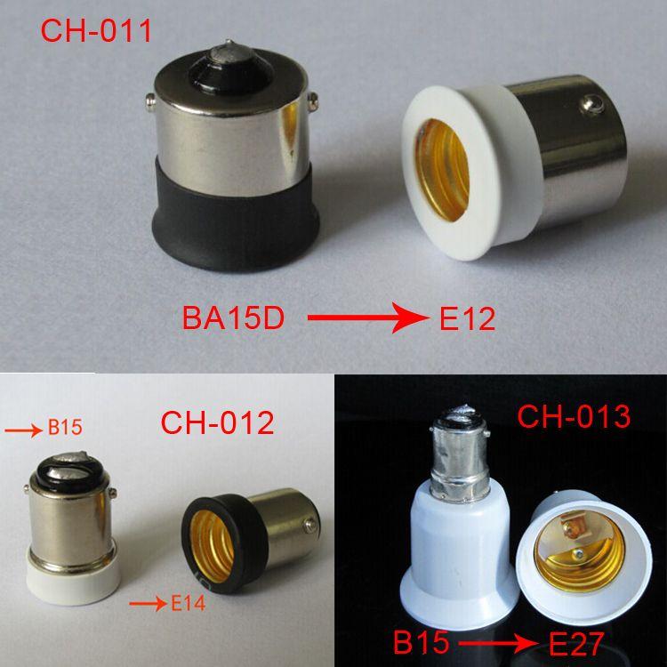 E27 TO E40 portalampada Convertitore Basi di fissaggio E11 E12 E14 Scakets Vite B22 light Wedge G9 G24 GU24 MR16