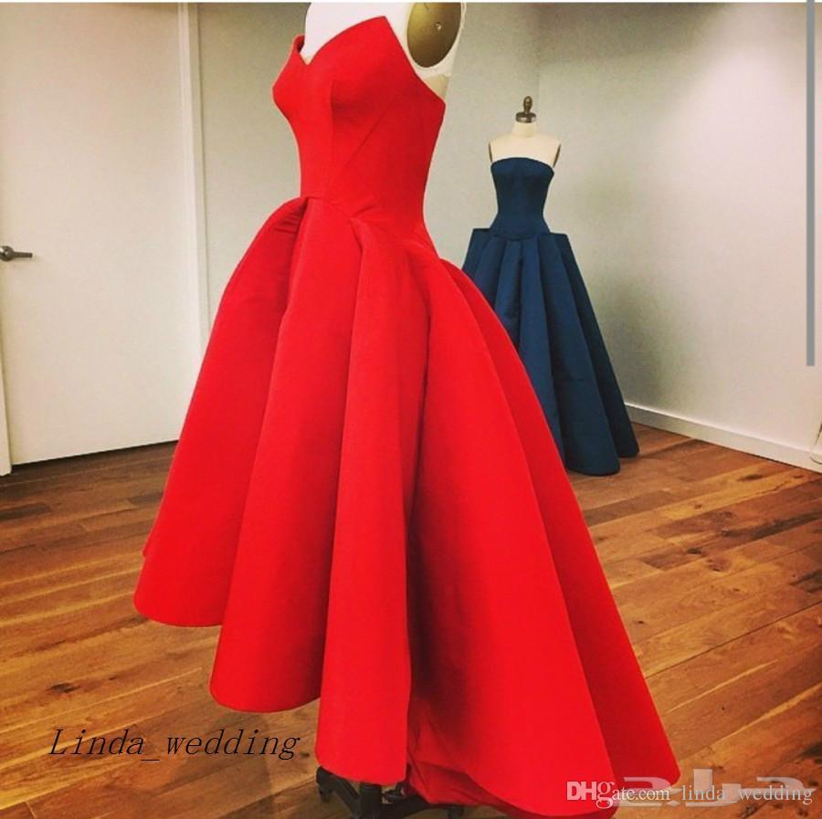 Spedizione Gratuita Arabo Myriam Fares Abito Da Sera Nuovo Vestito Convenzionale Abito Celeybrity vestidos de fiesta 2019 rojos