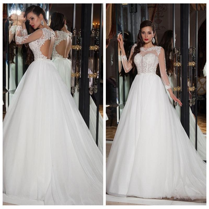 Simple Casual Wedding Ideas: Discount Fashion Simple Casual Wedding Dresses A Line For