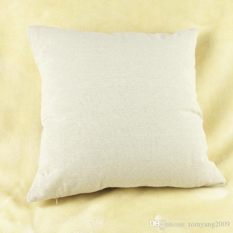 Dandelion Pillow Cover Simple Small Fresh Dandelion Cotton Linen Throw Pillow Cover Cushion Cover Pillowcase New Arrival