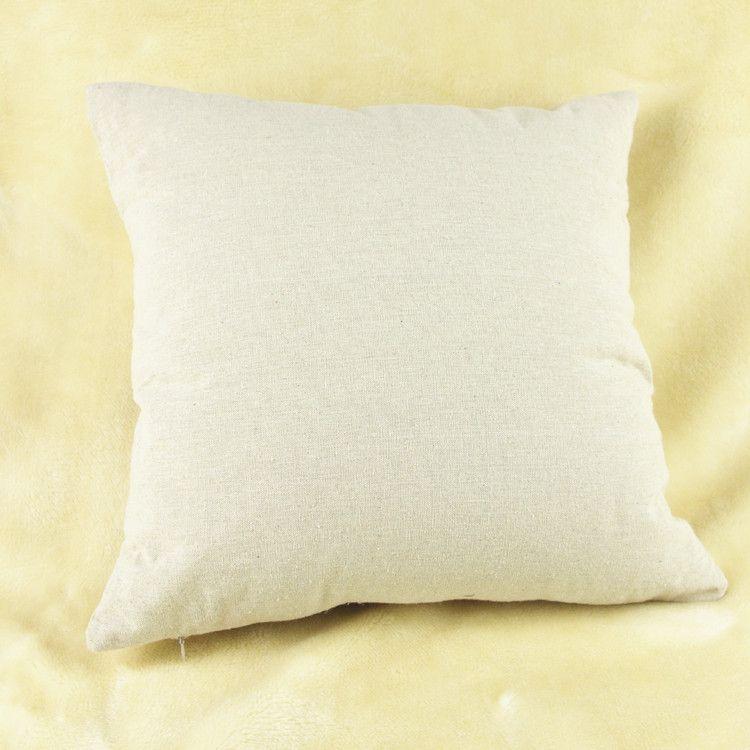 Funda de almohada de diente de león Simple pequeña y fresca Diente de león Lino de algodón Funda de almohada Cojín Funda de almohada Nueva llegada