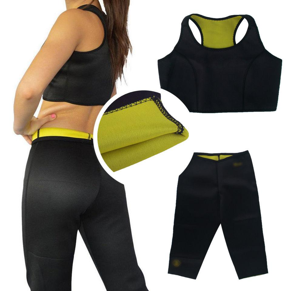 699d8c5ed1 Pants+Vest Bra HOT Shaper Sets Body Slimming Fitness Body Shaper Top Bra  Shaping Panties Reducing Lose Hot Shapers Pants Bra High Performance  Slimming Belt ...