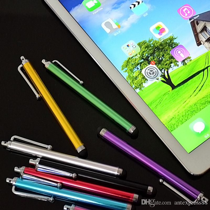 Stylus Pen Capacitive Touch Screen For Universal Mobile Phone Tablet iPod iPad cellphone iPhone 5 SE 6 S 6plus MultiColors 01